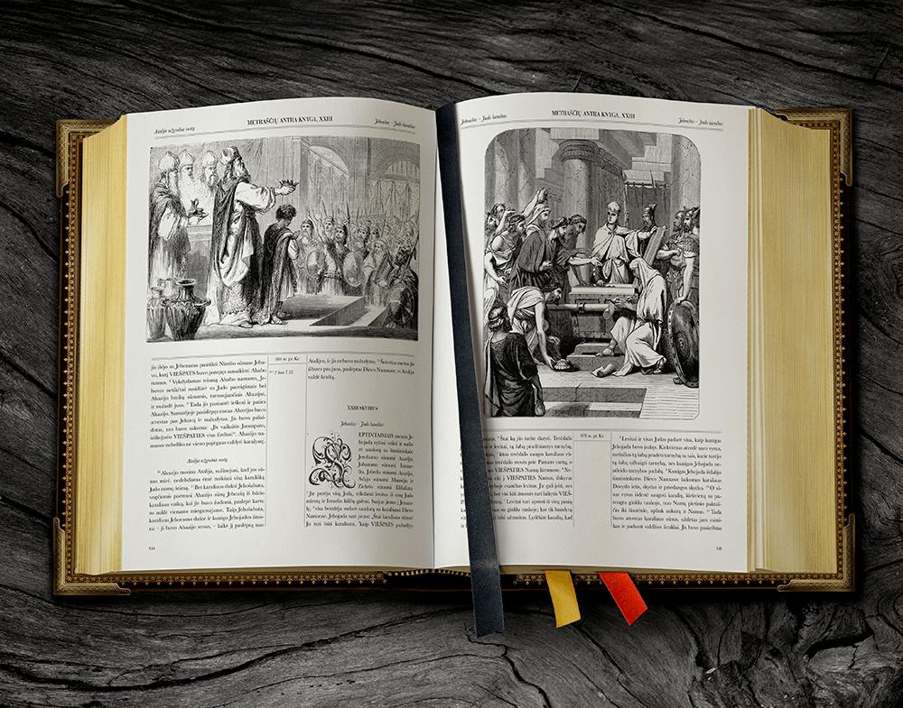 Biblija su gražiausiomis iliustracijomis
